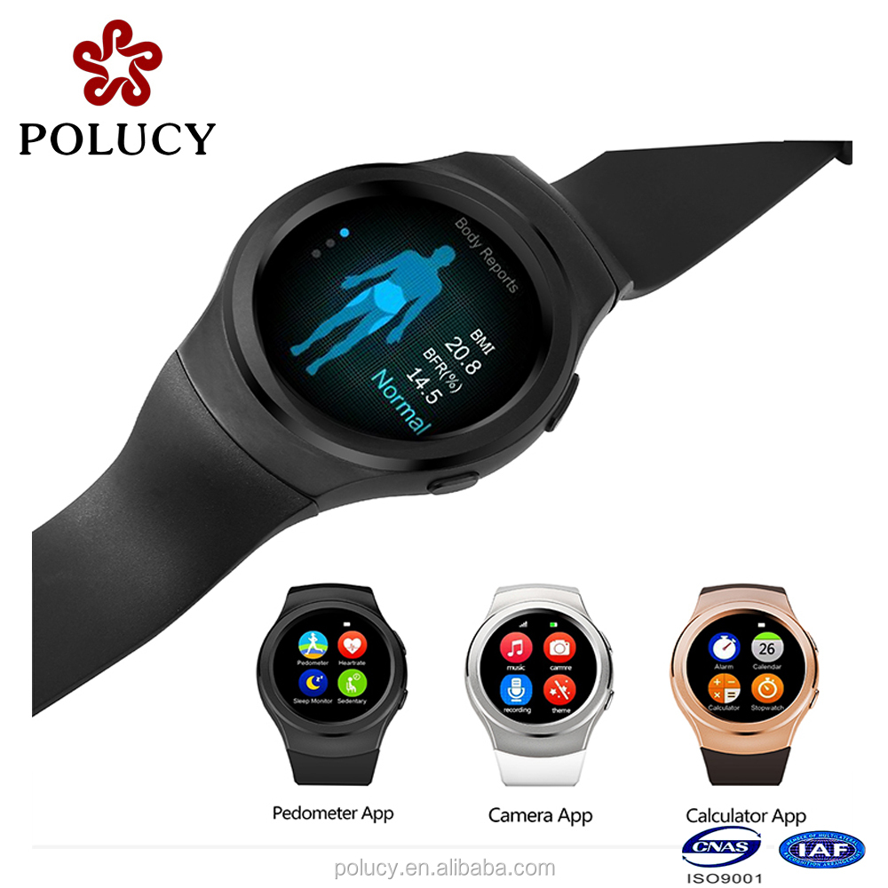 2016 OEM waterproof bluetooth smart watch with android smart phone