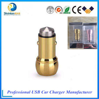 2 usb port Aefficient and rapid charging car charger for smartphone and computer