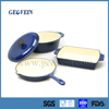 Wholesale Alibaba porcelain coated cast iron cookware