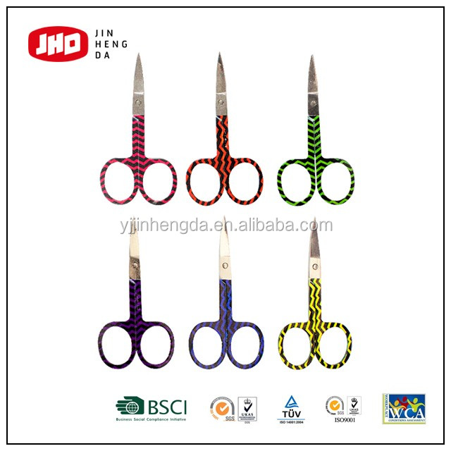 OEM eyebrow scissors with pattern