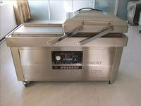 meat vacuum packing machine DZ600/2C Vacuum machine for small factories packaging for chicken