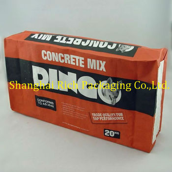 2017 hot selling kraft cement bags for sale