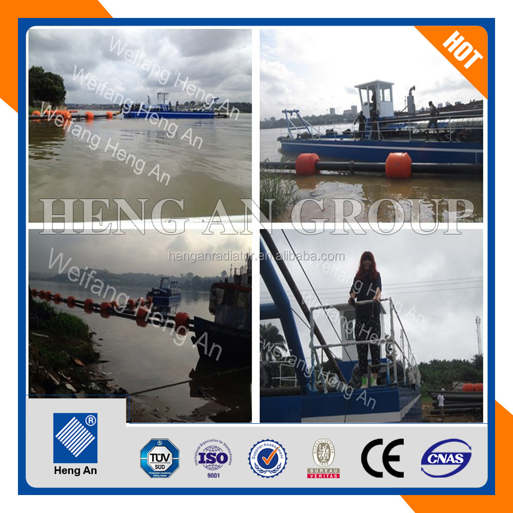 2017 new 18 inch cutter suction dredger