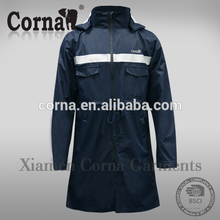 High quality waterproof factory price fashion thick raincoat for wholesales