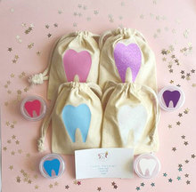 Tooth Fairy Kit Bag, Muslin Bag For Tooth Kit