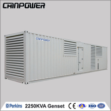 factory used 2250kva diesel welder generator with canopy for sale