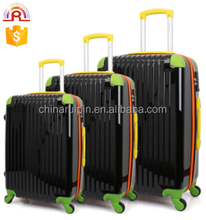 color abs pc trolley luggage