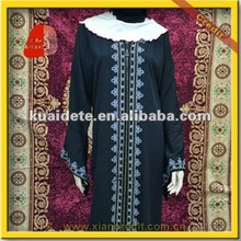 2013 Stylish muslim arab lady robe sale NPZ-119