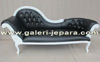 French Chaise Lounge - Indonesia Indoor Furniture - French Style Furniture