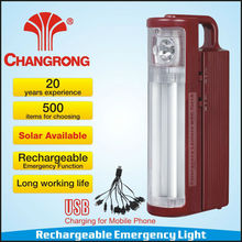 Rechargeable Portable Hand Emergency Lamp with High Power LED