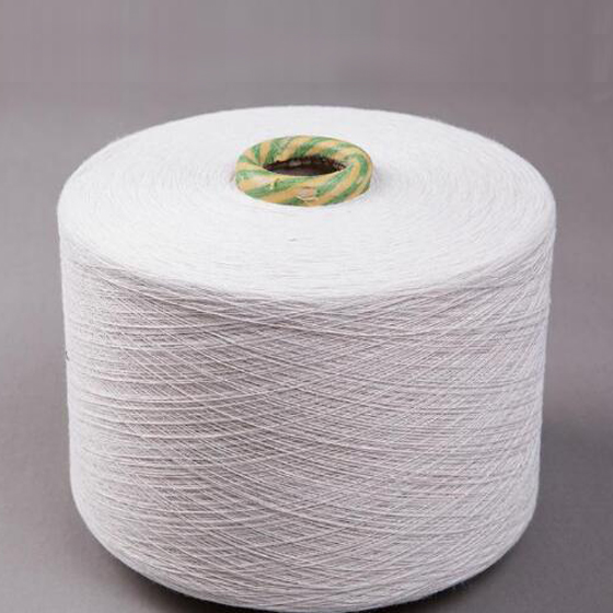 Pine tube100% raw white polyester large chemical fiber bale sewing thread