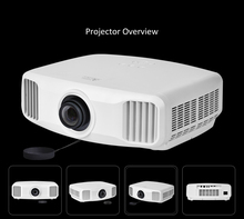 2018 Trending Home Theater Cinema Projector For Video Games TV Movie Support HDMI 3D WIFI Beamer