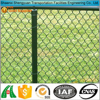 Hot dipped galvanized used chain link fence post weight