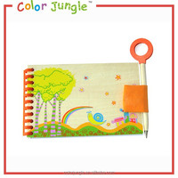 Buy notebook china colorful spiral classmate notebook,magnifying Glass and pen notebook paper