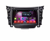 Newest Qcta core !! Android 7.1 car gps stereo navigation , car audio player for Hyundai i30