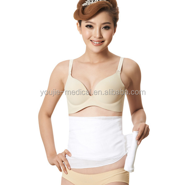 100% Cotton postpartum waist slimming bandage for women after giving birth