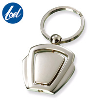 Souvenir custom blank metal key chain for promotion keyring