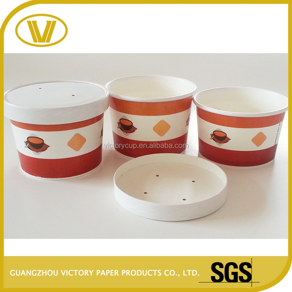 bowl paper cup soup container for sale and hot soup paper container with lid