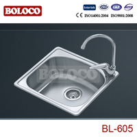 Stainless steel antique kitchen sinks for sale BL-605