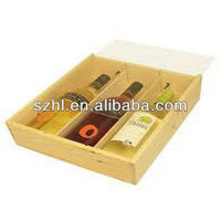 Clear Acrylic Wine Display Box For