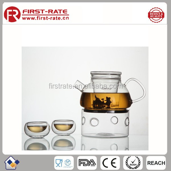High temperature heating tea pot