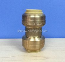 Brass Push Fit Coupling / Equal Push fit Fitting
