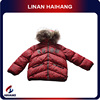 Aliabba wholesale Red down padded winter jacket for boy supplier