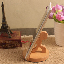Wholesale polish wooden cell phone holder