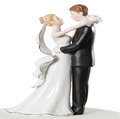 wedding couple cake topper figurine