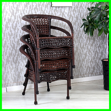 stacking bistro cheap stacking woven bistro chair