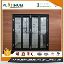 2017 customized low price folding door aluminum main doors