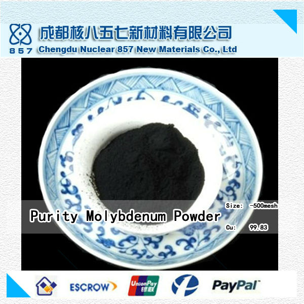 China high purity wholesaler of Purity Mo powder