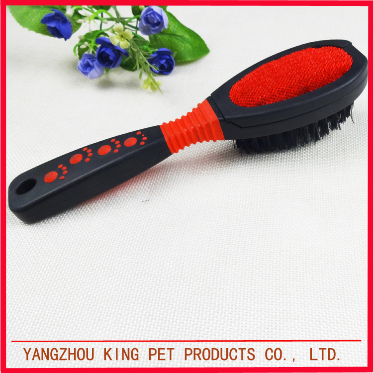 Puppy products double sides dog hair grooming brush pet cleaner