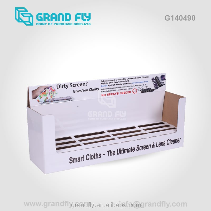 G140490 store retailed mobile phone shell cardboard counter display