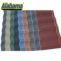 Durable and Low Price colored roofing sheet, black roof tiles , chinese cheap roofing materials in high quality