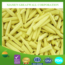 Frozen baby corn whole from China