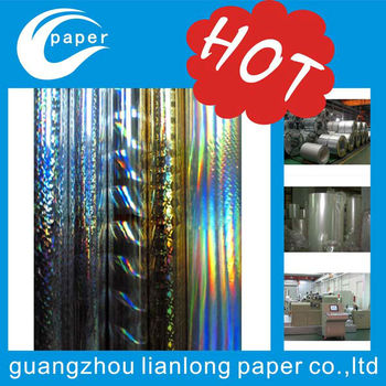 hot stamping foil manufacture
