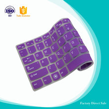 Hot sale colorful custom silicone keyboard cover silicone case