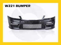 High grade plastic bumper Body Kit for Mercedes Benz S Class w221 10-13 s65 s63 s500 s550 Auto Parts