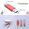 High Speed USB 2.0 card reader TF T-Flash Memory Mobile Universal Micro USB OTG Card Reader for Phone & PC Tablets