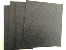 Black Textured PVC Board PVC Panel for Thermoforming Package