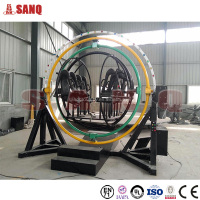 New arrival !!! Amusement human gyroscope rides for sale