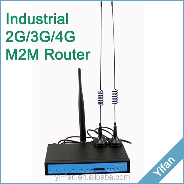 YF360D-L VPN M2M 3g 4g industrial cell router