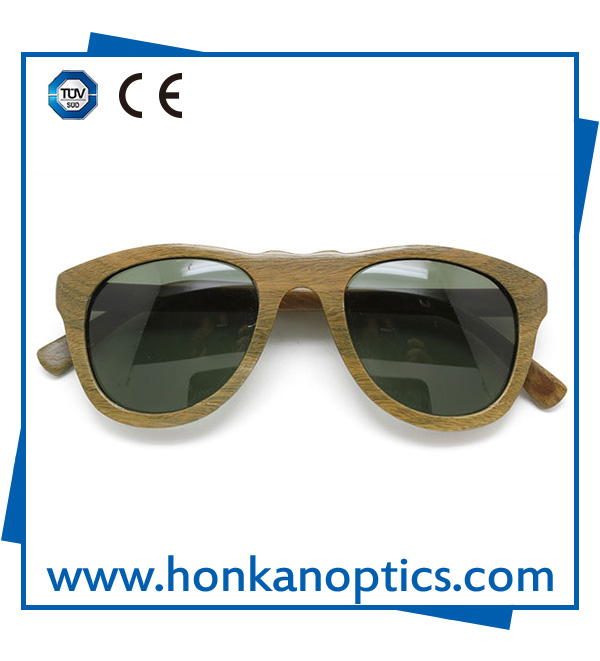 Italian design high-grade wooden sunglasses(WG004)