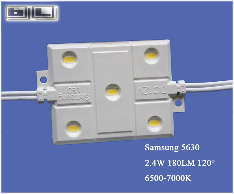 DC12v &dc24v 2w/module samsung led injection module rohs&ce&ul listed