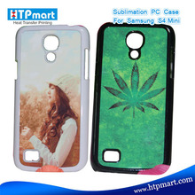 2D pc blank sublimation phone case shockproof case for samsung galaxy s4 mini