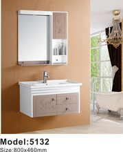 Best selling floating bathroom cabinet pvc cabinet