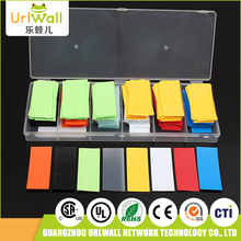 280pcs colorful wire wrap insulation pvc battery tubing kit heat shrink tube