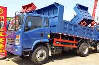 2015 PROMOTION 6m3 garbage small dump truck