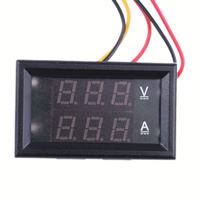 Digital meter for motorcycle ,h0t4h digital ammeter and voltmeter for sale